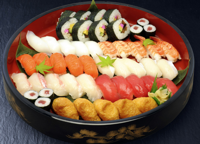 701寿司盛り合わせ
