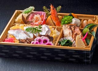 347甘鯛の若狭焼きと海鮮ちらし寿司弁当