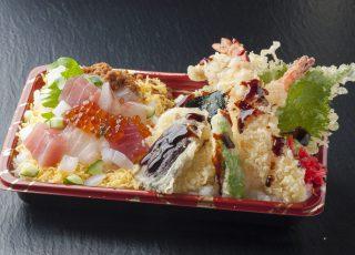 お好み2色丼 海鮮丼+天ぷら