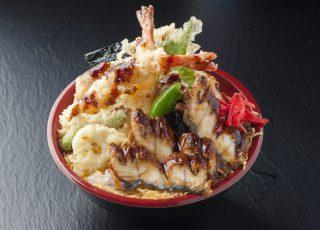 お好み2色丼 天ぷら+うなぎ丼